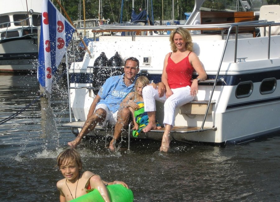 Motorboot huren in Friesland